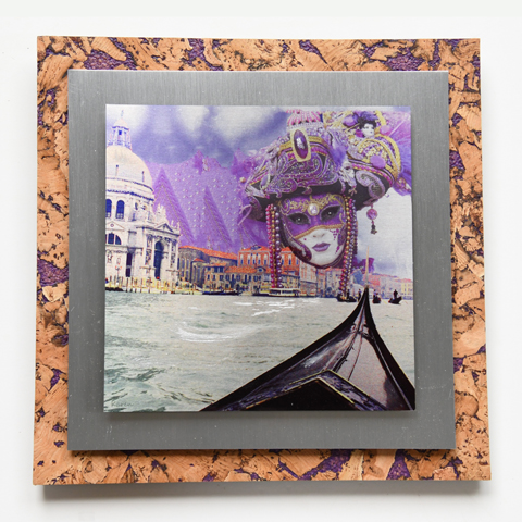 Mystery Lady on Purple cork