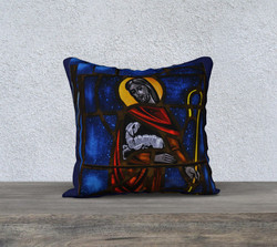 jesus-and-lamb-pillow