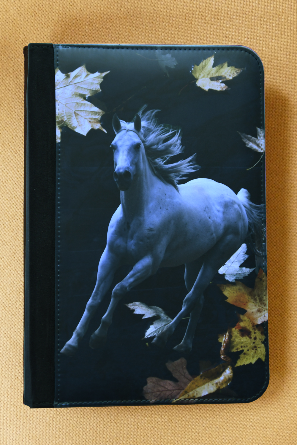notebook-horse-w-leaves
