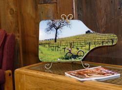 Wine Country Bike Cheese Board