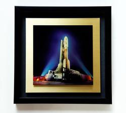 Juno 12x12 gold w shadowbox
