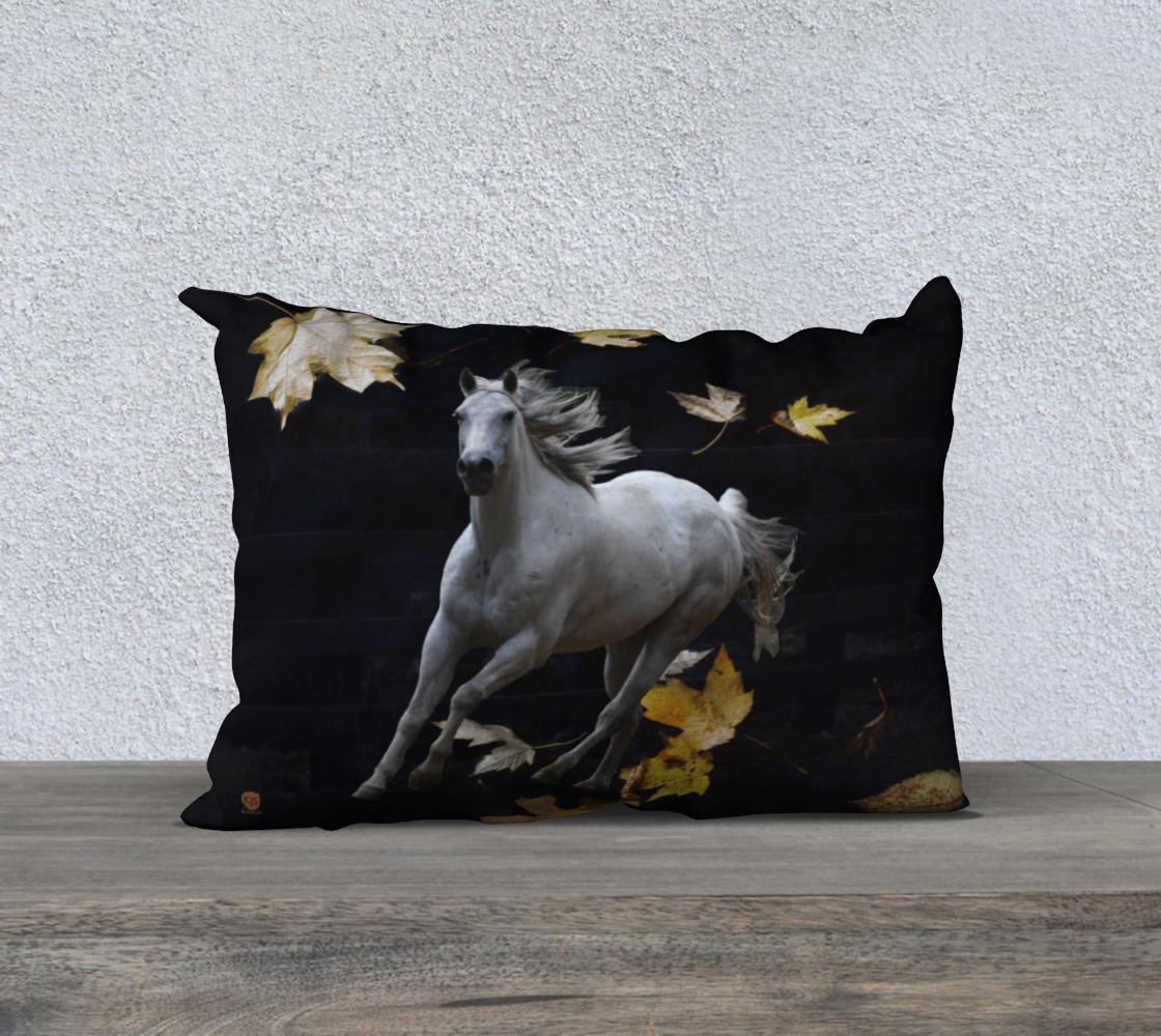 horse-w-leaves-20x14-velveteen-pillow