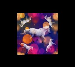 bubble-horse-16x16-poly-chiffon-scarf
