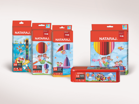 Nataraj : Art kids packaging