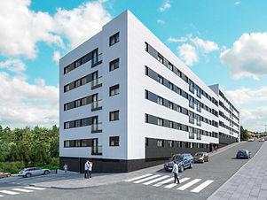 """<p class=""""font_8"""">Apartamento tipologia T2, novo, inserido em prédio de construção moderna e atrativa ao nível do 3º Piso. Acabamentos de superior qualidade, conforto e inovação são carateristicas deste imóvel. Localizado em Ermesinde, com proximidade a serviços, comércio, estabelecimentos hospitalares e de ensino, transportes públicos, acesso à auto-estrada.</p> <p class=""""font_8"""">O imóvel dispõe de cozinha, hall, sala, 2 casas de banho, lugar de garagem. Aquecimento central, caixilharia com corte térmico e vidros duplos, caldeira a gás natural&nbsp;.</p> <p class=""""font_8"""">Exposição solar: Sul</p>"""
