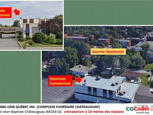 'La réalité des crématoriums au Québec'.