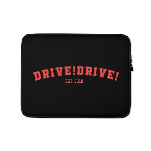 Black College Laptop Sleeve