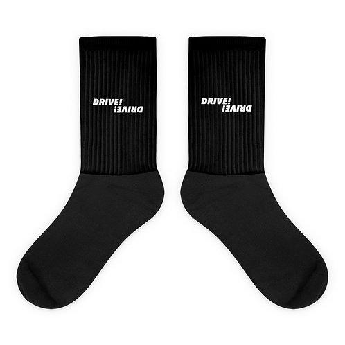 Logo Basic Black Socks