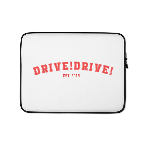 White College Laptop Sleeve