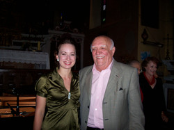 Avec Gabriel Bacquier, baryton
