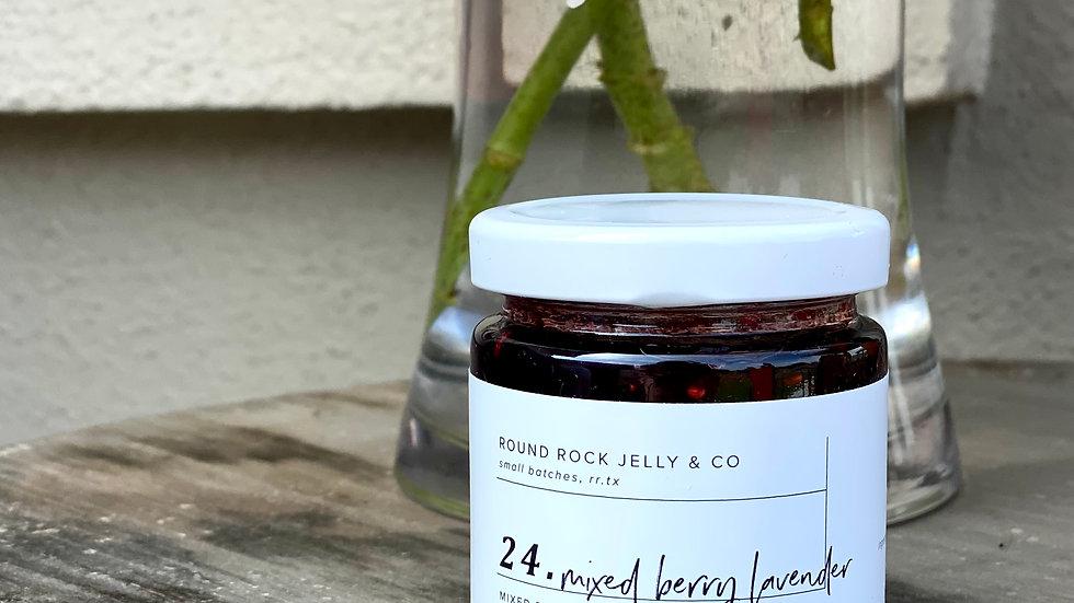 Mixed Berry Lavender Jam