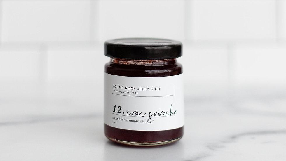 Cranberry Sriracha Jam