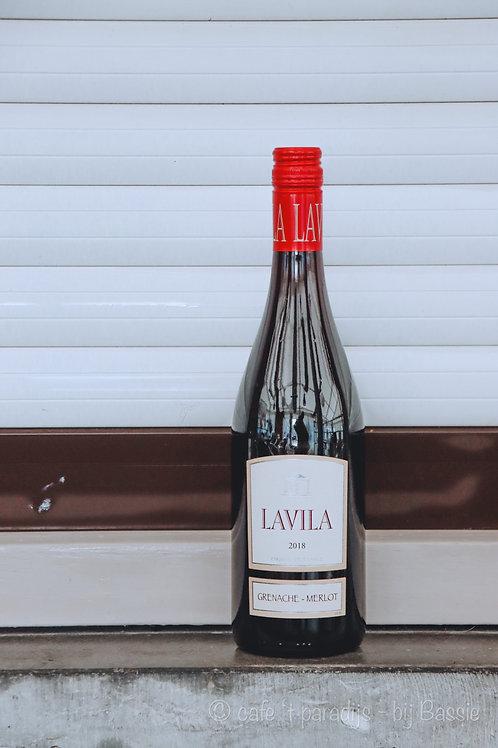 6 flessen rode wijn