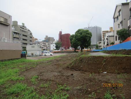 住宅街に長さ120mを超すマンション建設計画