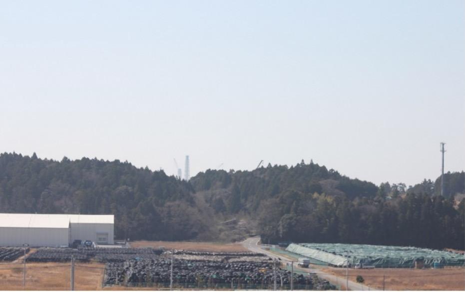 放射能廃棄物中間保管施設