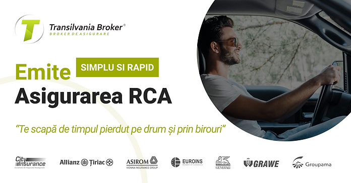Emitere online asigurare RCA