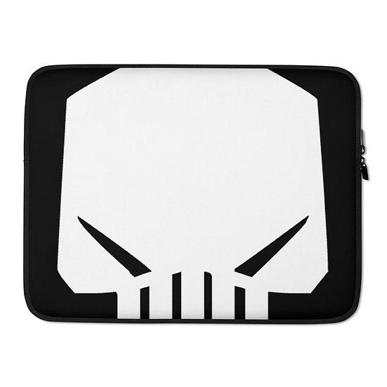 Dark Silence Logo Laptop Sleeve
