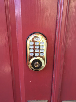 Keypad Lock Installation