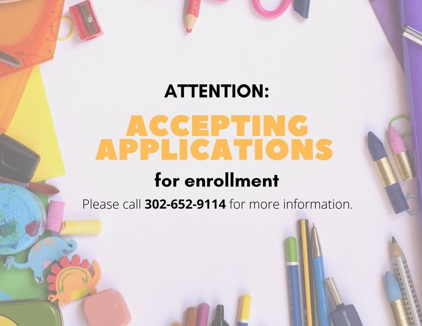 Applications for Enrollment