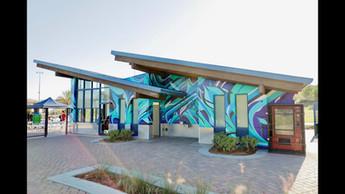 "Skate Park ""Inertia"" Mural"