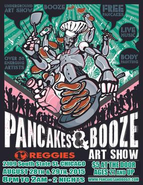 Pancakes at Reggie's Chicago