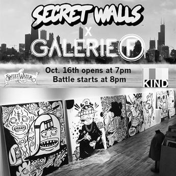Secret Walls x Galerie F