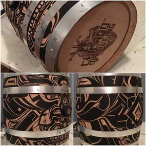 Barrels for Murals