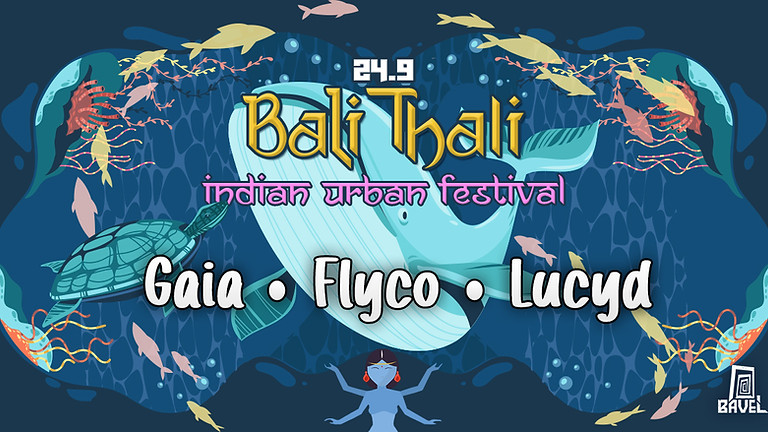 Gumi ✦ Gaia ✦ Lucyd באלי טאלי ॐ פסטיבל צהריים הודי אורבני