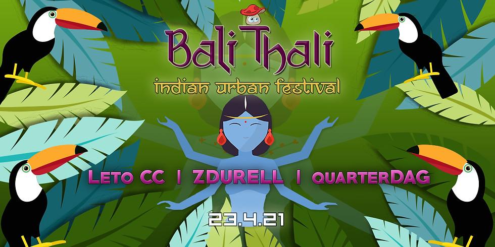 באלי טאלי ॐ פסטיבל צהריים הודי אורבני בבית מיקו Zdurell ✦ Leto CC ✦ QuarterDag