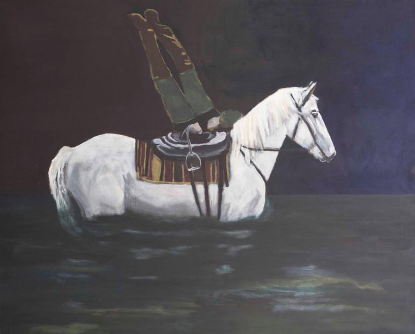 Man en paard/Man and horse