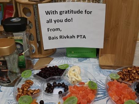 Tu B'shvat - from PTA