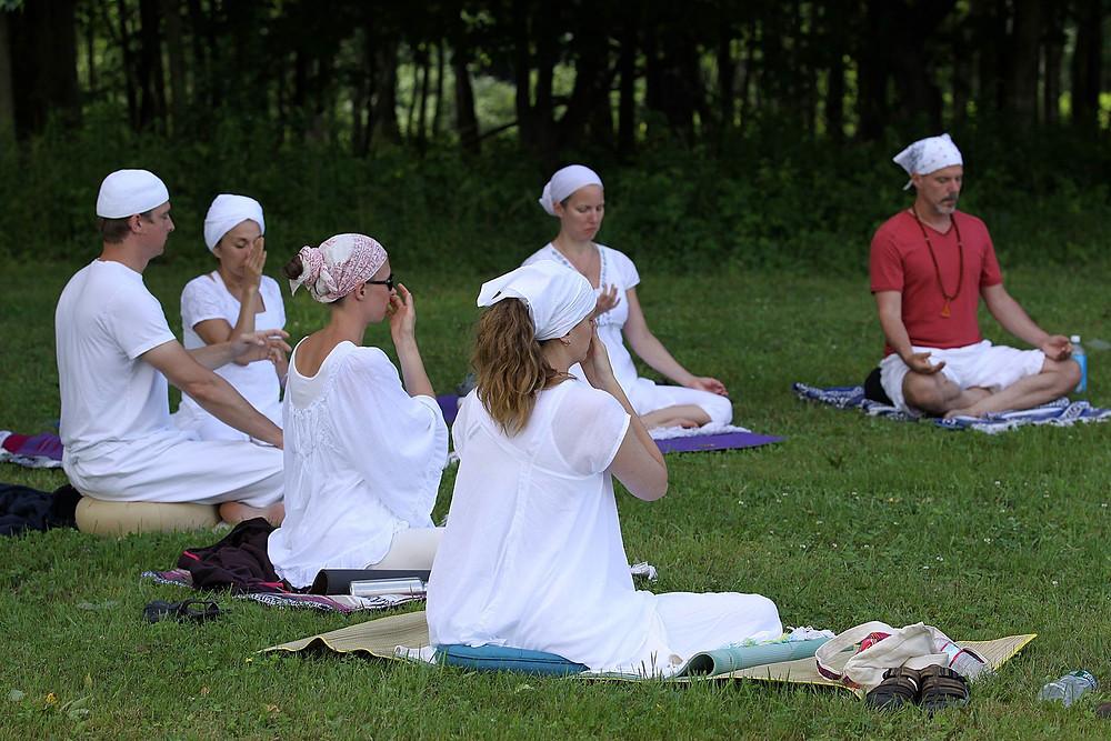 Initial (Level 1) Sodarshan 2 1/2 hr. Meditation