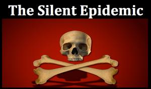 Silent Epidemic skull and crossbones