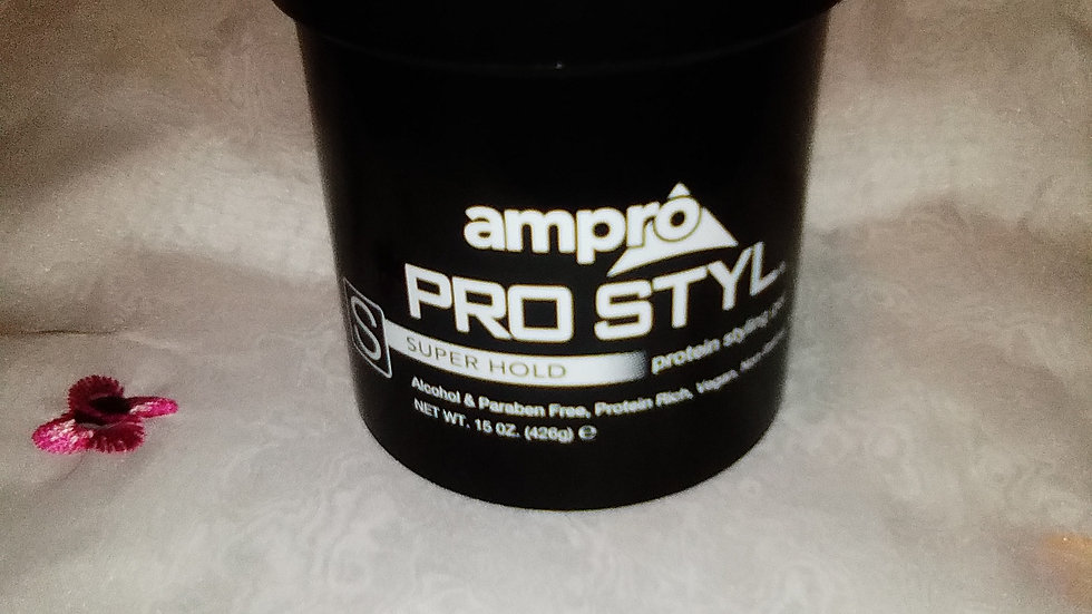 Ampro pro style super hold protein gel, 15 oz.
