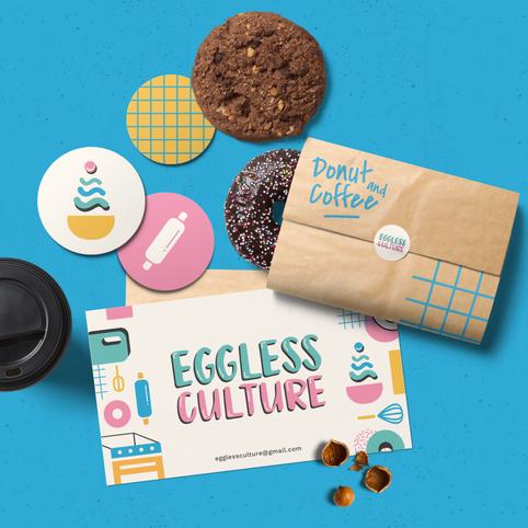 Eggless Culture Business Card