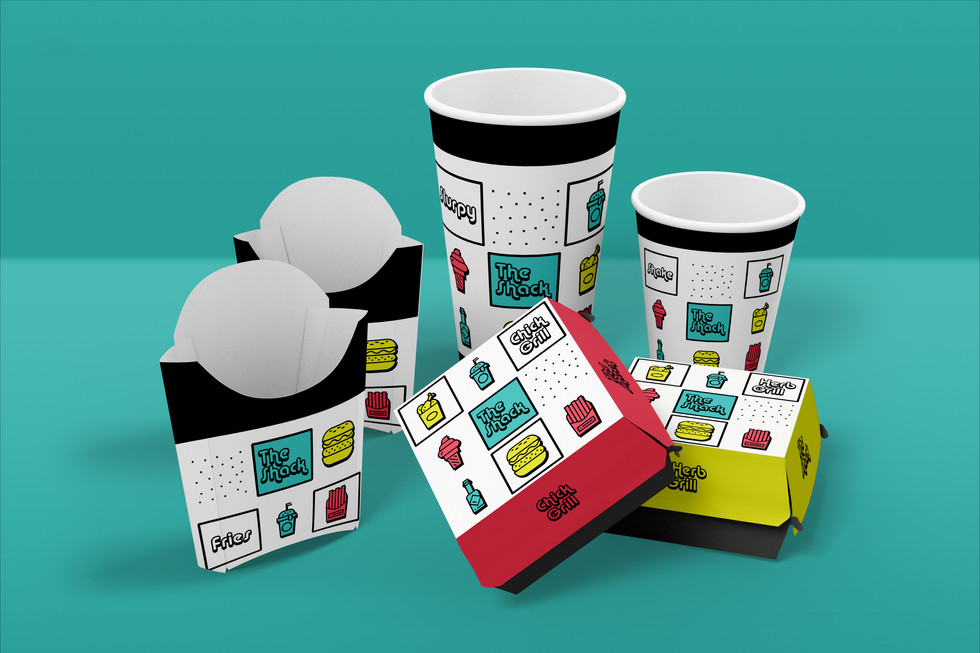 The Shack Packaging Design