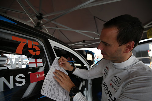 Olympus Rally Live Co-Driver Class