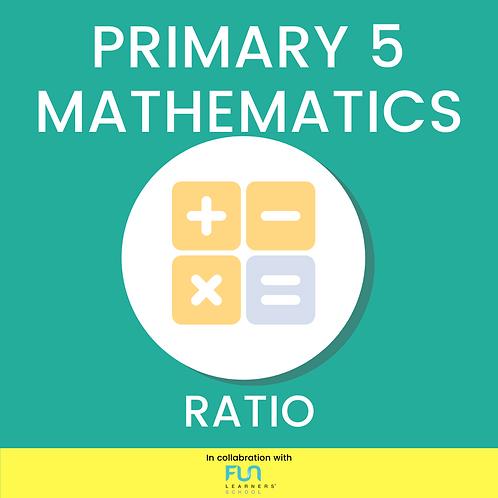 P5 MATH - Ratio