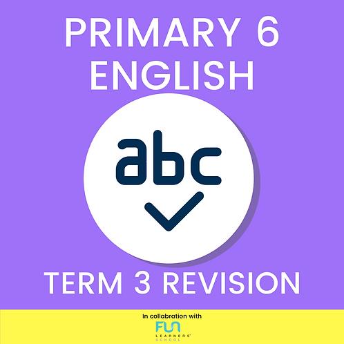 P6 EL - Term 3 Revision
