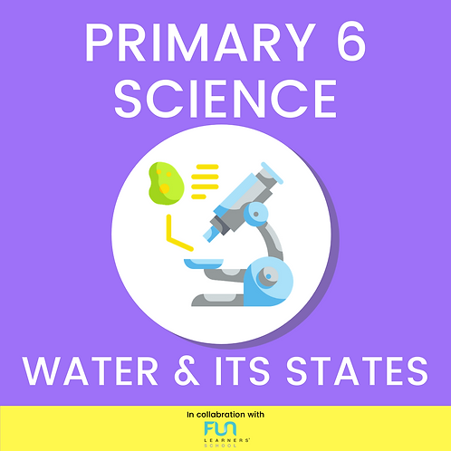 P6 SCI - Water & Its States Revision