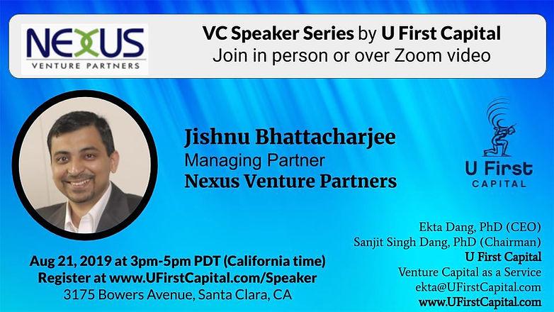 VC Speaker Series | U First Capital