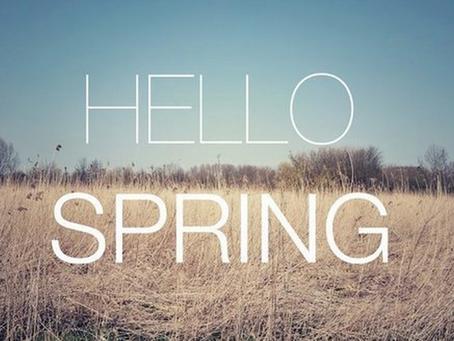 Spring has sprung! September Tax Update