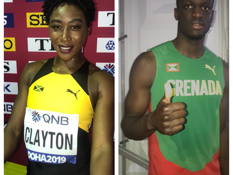 API Alum in two of the most exciting finals of the World Athletics Championships in Doha
