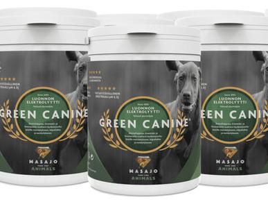 Green Canine testissä