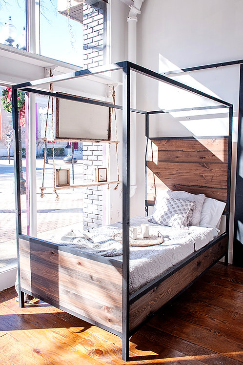 Farmhouse Bed Frame