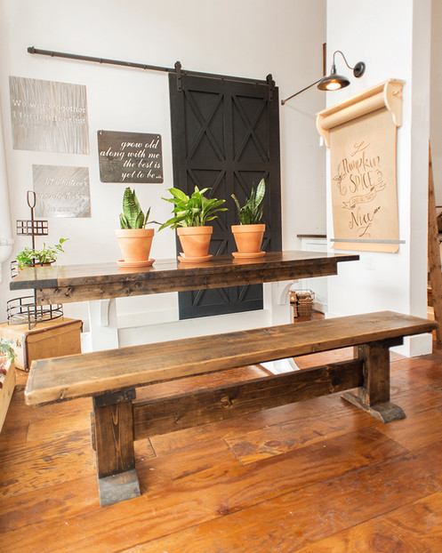 6 Eco Friendly Diy Homes Built For 20k Or Less: Sweet Beginnings Table
