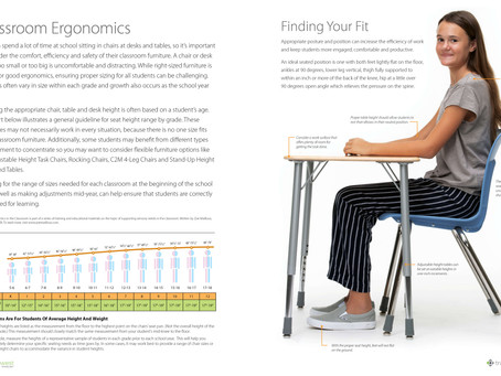 Classroom Chair Sizing Guide