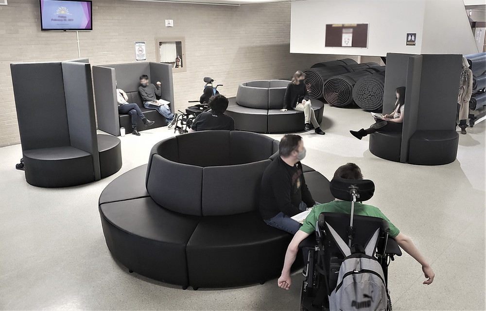 Ratio Soft Seating and Heyes Walls by Trade West