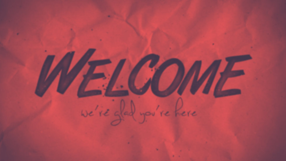 Welcome -Faded Red.jpg