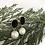 Thumbnail: Black Enamel Pearl Drop Earrings